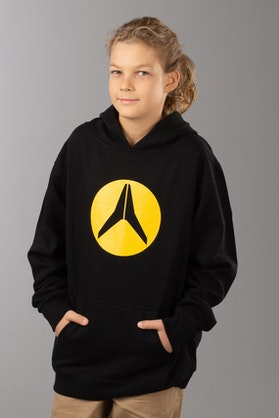 Alias Circled Kid's Hoodie Black