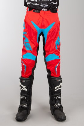 Alias A1 MX Trousers Red-Cyan