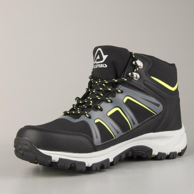 Acerbis Mud Shoes Black-Yellow