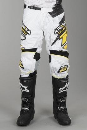 Crossové Kalhoty Progrip Arma Bílá