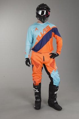 Crossové Oblečení Alias A1 Floated Modrá-Oranžová