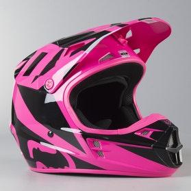 Motokrosová Helma Fox V1 Race Růžová