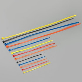 Proworks 150mm-500mm Nylon Cable Ties 100-pack