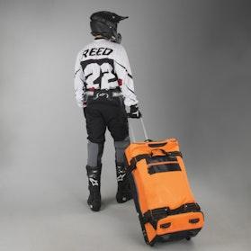 Taška Acerbis Borsa X-Trip 105 liter Oranžová