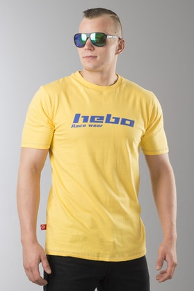Hebo Race Wear T-Shirt Żółty