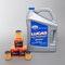 Olej silnikowy Lucas Oil SAE 20W-50 Wt 5L + 3-pak filtra oleju Twenty