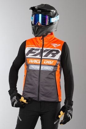 Vest FXR RR Insulated, Orange/Grå