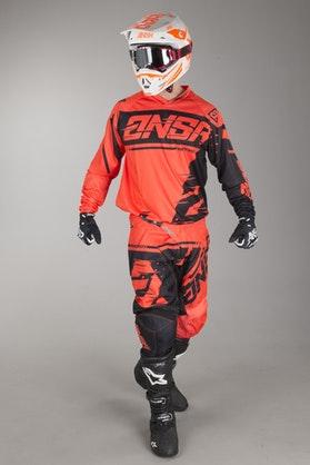 Motokrosové Oblečení Answer Syncron Červená-Černá