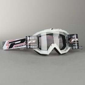 Progrip 3208 XL Roll-Off Goggles White