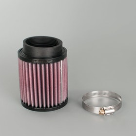 K&N Universal Air Filter Round Angled