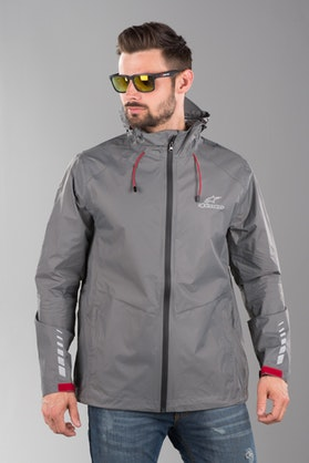 Alpinestars Resist Rain Jacket Dark Grey