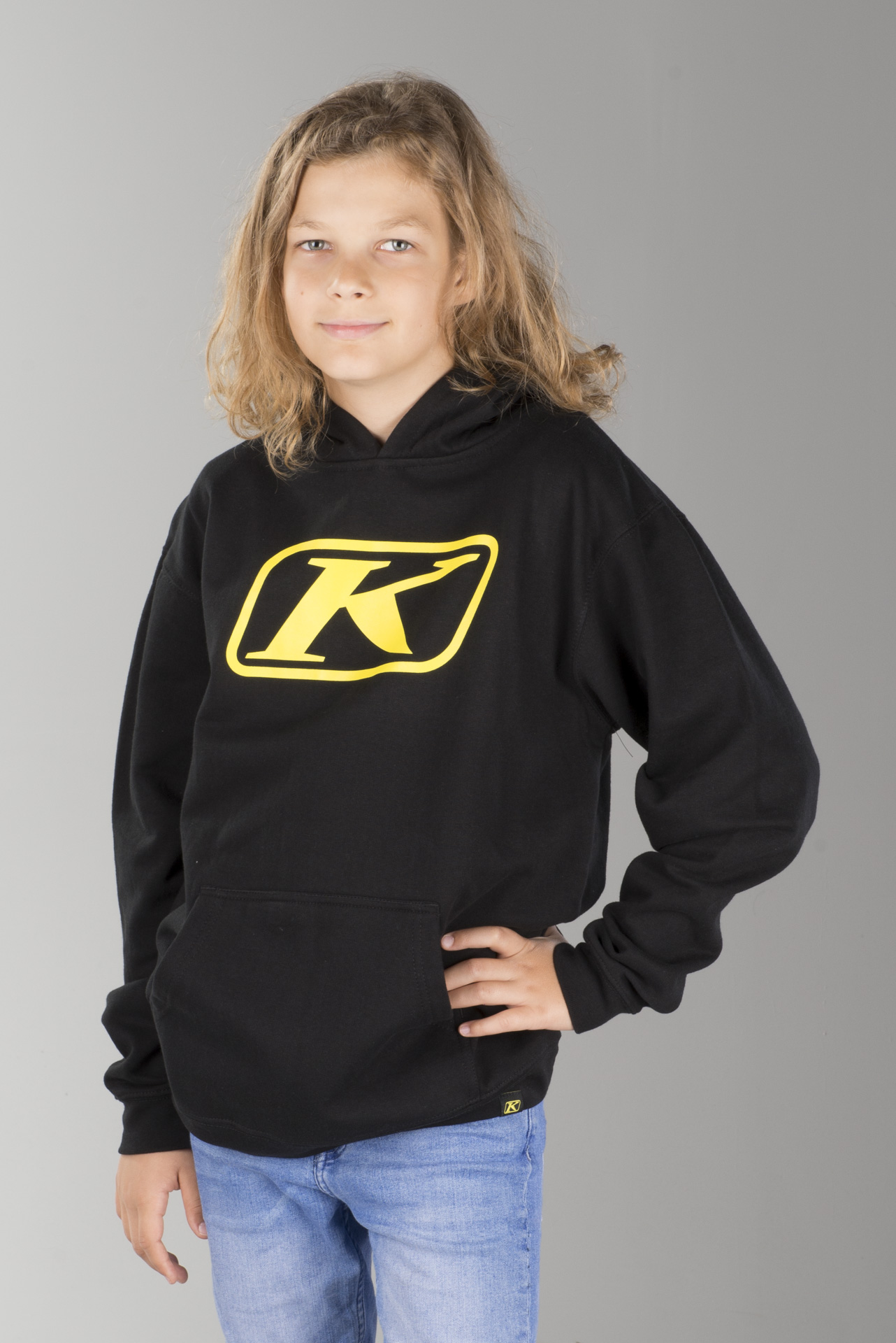 Klim Icon Pullover Youth Hoodie Black Buy now, get 10% off
