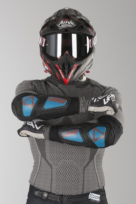 Leatt Contour Elbow Protection Fuel-Black