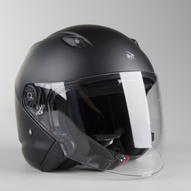 RXA Intercity Open Helmet Matte Black