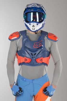 Fox Airframe Pro CE Protection Vest Blue MX 18
