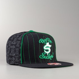 West Coast Choppers Pay Up Sucked Fitted Cap Black