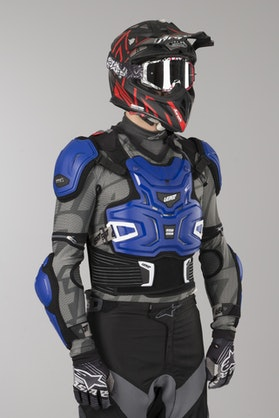 Leatt Adventure Protective Vest Blue