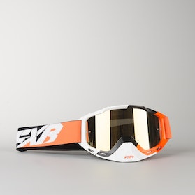 FXR Boost MX Goggles Orange-Black-White