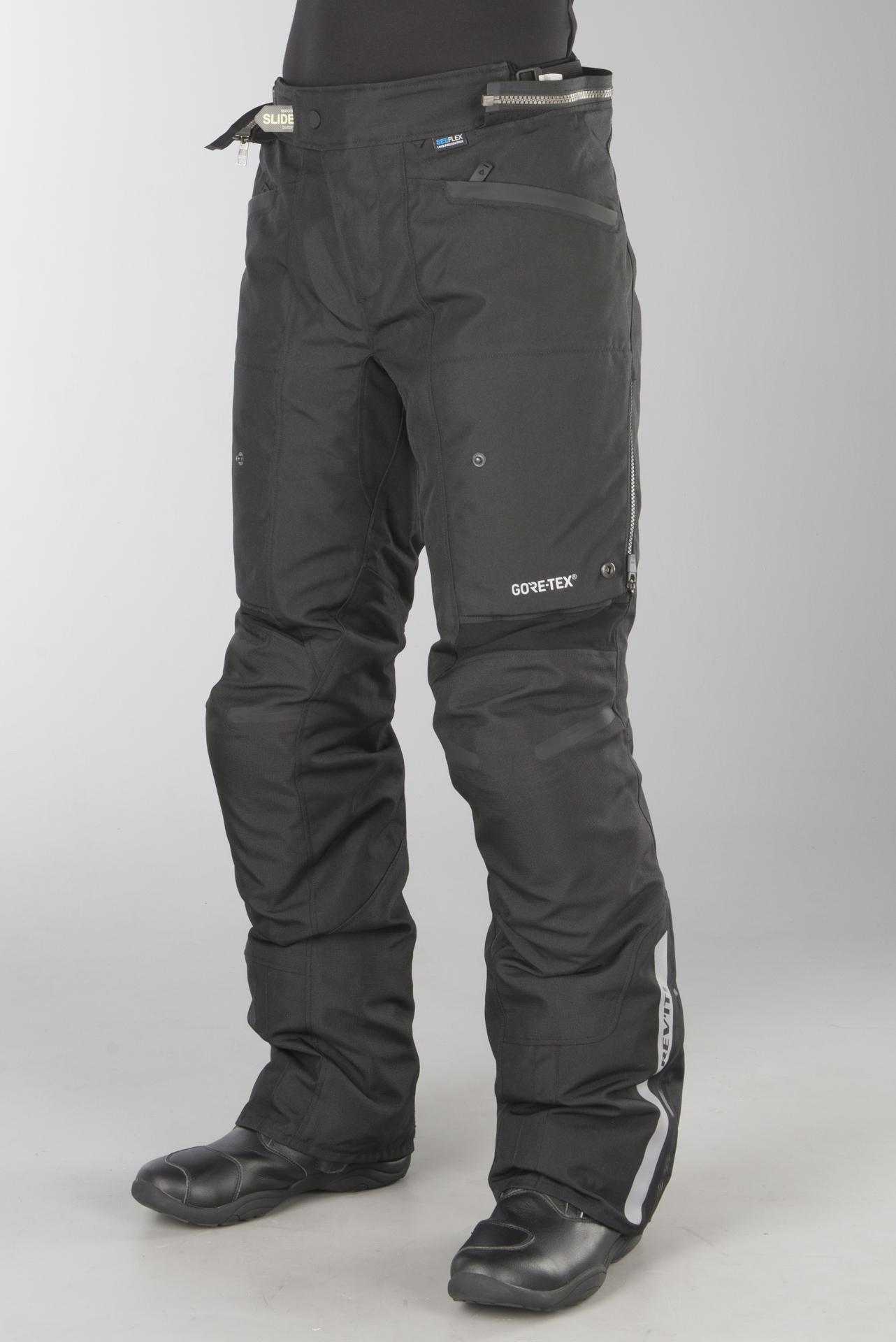 Black, XXX-Large IXS Neptun Rain Pants