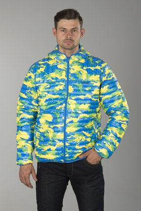 Airoh Jacket Camouflage & Blue