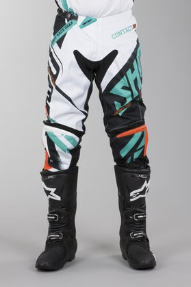 Shot Contact Pants Raceway Orange-Mint