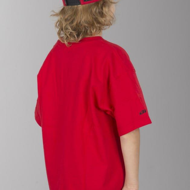 T-Shirt One Industries Icon Barn Rød-Sort
