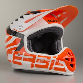 Acerbis Youth Impact 3.0 Helmet Orange-White