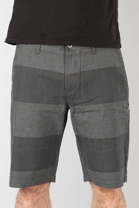 Fox Essex Plaid Shorts Grey