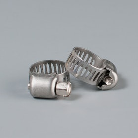 TWENTY Stainless Steel Hose Clamps 6-13mm