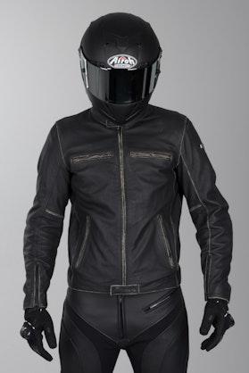 IXS Sondrio Leather Jacket Black