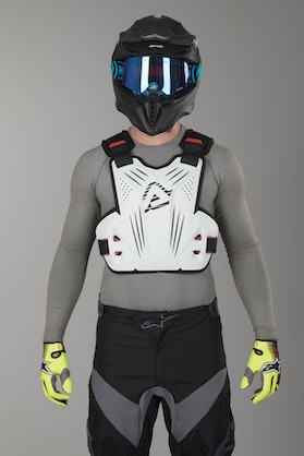 Acerbis Impact Chest Deflector White