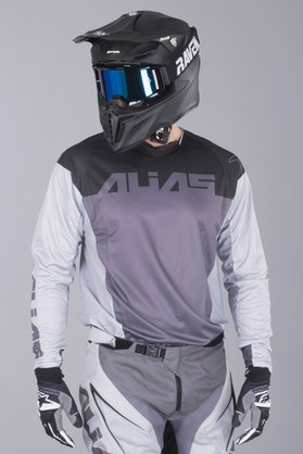 Alias A1 Classic MX Jersey Black-Grey
