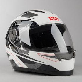 IXS 135 2.0 Kids Integral Helmet White-Black-Red