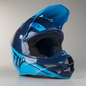 FLY F2 Rewire Cross-Helmet Dark Blue