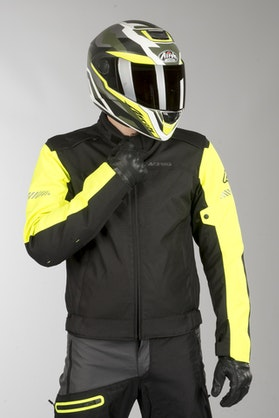 Acerbis Discovery Ghibly Jacket Black-Fluo Yellow