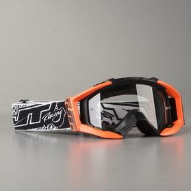 Gogle Cross JT Racing GSX 2.0 Czarno-Pomarańczowe