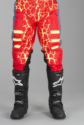 Acerbis Wildfire MX Trousers Red-Yellow