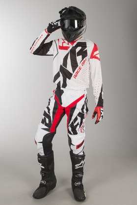 FXR Clutch Prime MX Clothes White-Black-Red TEST