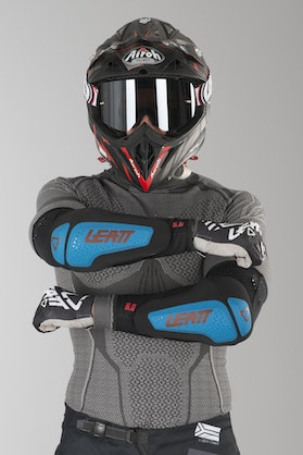 Leatt 3DF 6.0 Elbow Protection Fuel-Black