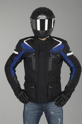 IXS Blade Jacket Black-Blue-White