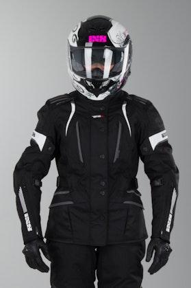 IXS Nemesis Ladies' Jacket Black-White
