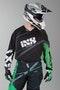 Bluza cross IXS Raceway Czarny-Zielony-Biały