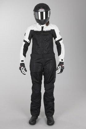 Revit Airwave 2 Ladies' Motorcycle Apparel Long Leg Black-White