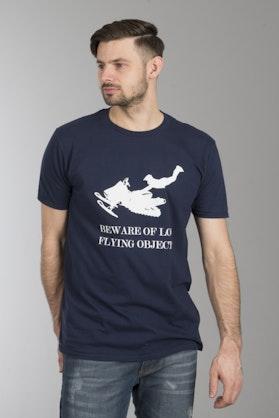 Koszulka Sledstore Beware LFO Niebieska