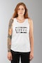 Unit Skinned Tank Top White