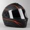 IXS 1100 2.1 Integral Helmet Matte Black-Fluo Red