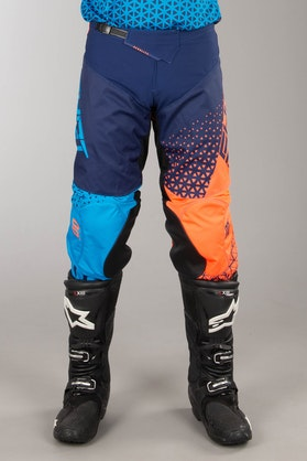 Shot Delta MX Pants Blue-Neon