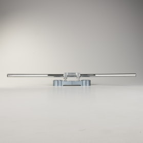 Kierownica LSL Cross Silver 28mm