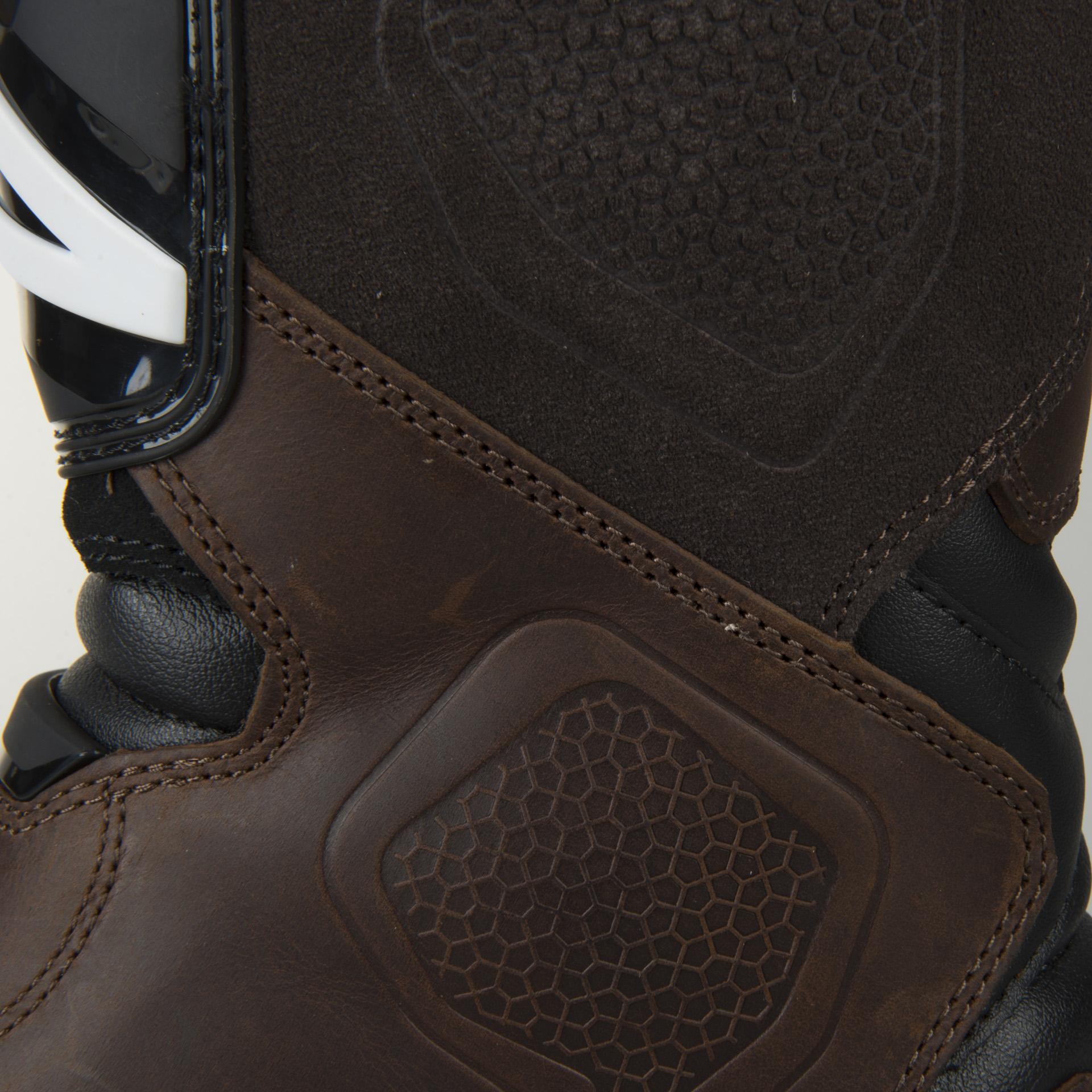 Alpinestars Belize DryStar Moto Boots Brown Oiled Leather