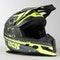 IXS 361 2.0 MX Helmet Matte Black-Yellow